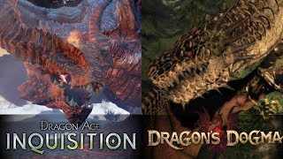 Dragon Fight Dragon Age Inquisition VS Dragon S Dogma