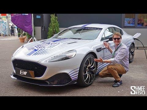 Aston Martin Rapide E makes first public appearance at Monaco e-Grand Prix