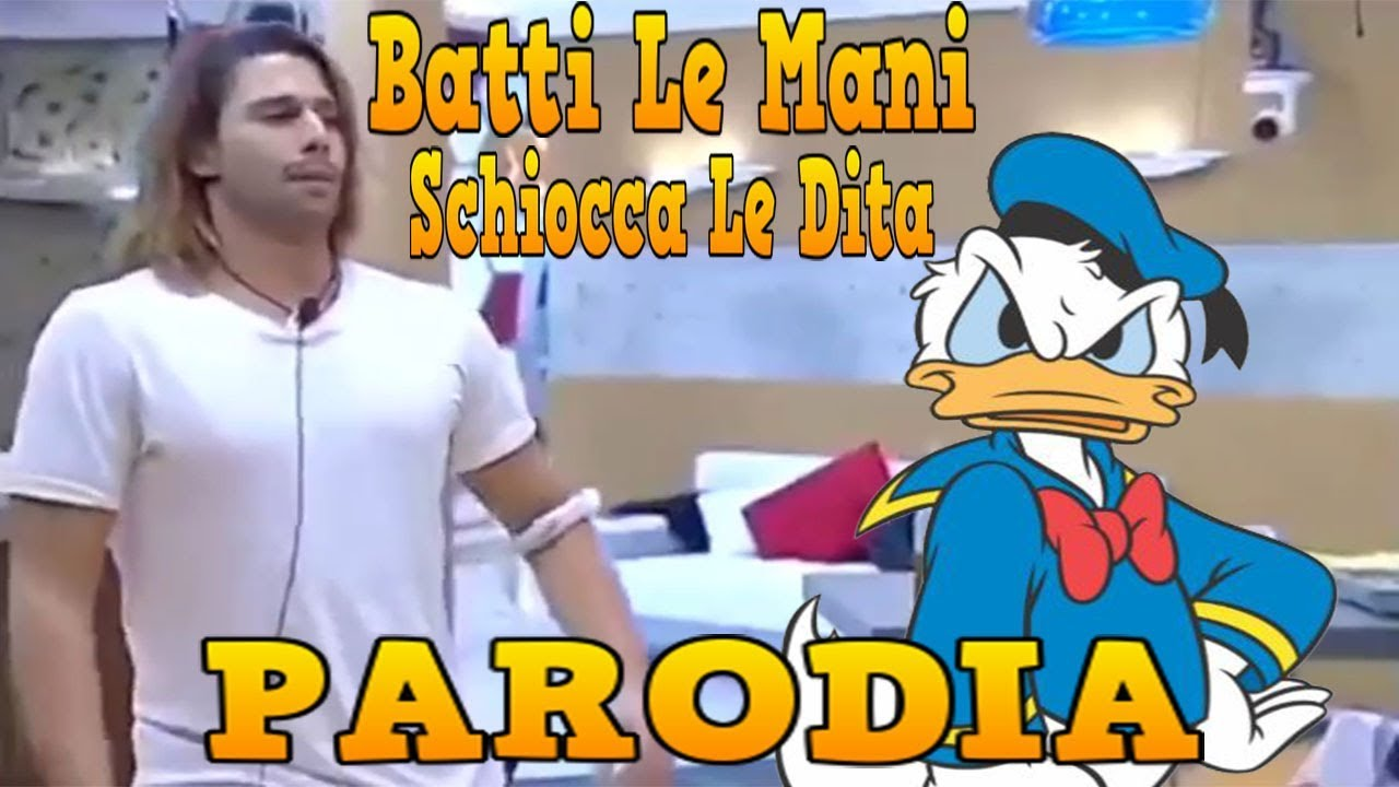 29f50e8f1858 Batti Le Mani Schiocca Le Dita Umore Alto Tutta La Vita (PARODIA ...