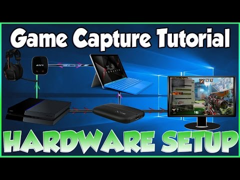 Record PS4 PC Xbox Game Clips Best Quality w/ Elgato HD60 + Headphones (Settings Tutorial) Pt.1