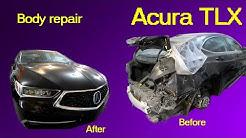 Acura TLX  Кузовной ремонт в Армении/Body repair in Armenia