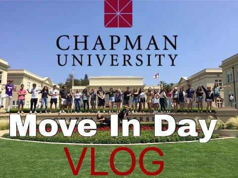 CHAPMAN UNIVERSITY: Move in Vlog 2017