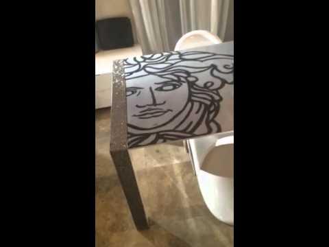 Versace Dining Table By Kfir Moyal