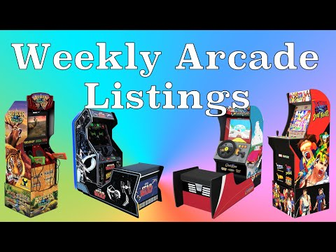 Arcade Listings Update, Upcoming Releases & PickUps | OCG Weekly #27 from Original Console Gamer