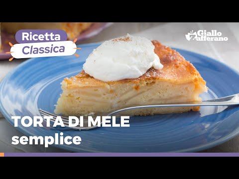 TORTA DI MELE: MORBIDA E FACILE