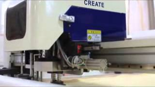 apparel auto cutter for Suits, uniforms, car interiors, jeans, trousers,cases