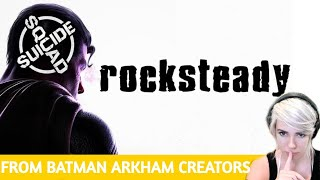 REACTION: Suicide Squad Game reveal!  (arkham creators)