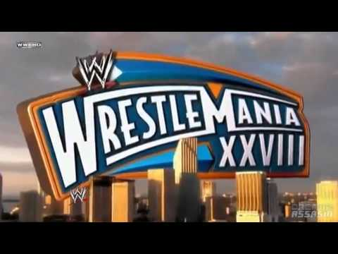 WWE WrestleMania XXVIII 2012  Theme Song Good FeelingHD