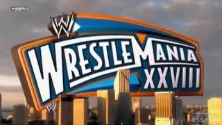 WWE- WrestleMania XXVIII 2012 Official Theme Song Good Feeling..HD