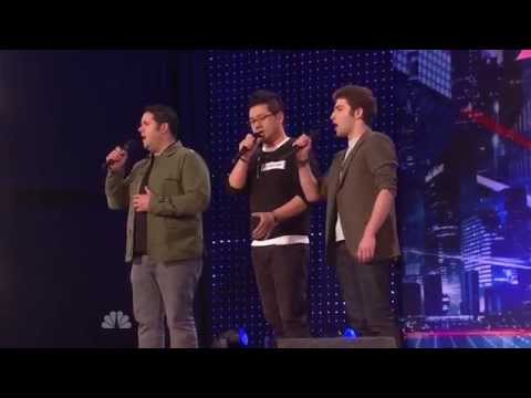 America's Got Talent Auditions Forte Tenor Singers, First ever public performance 06 29 2013