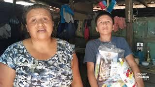Juan and His Mom - Sponsorship Food Bag