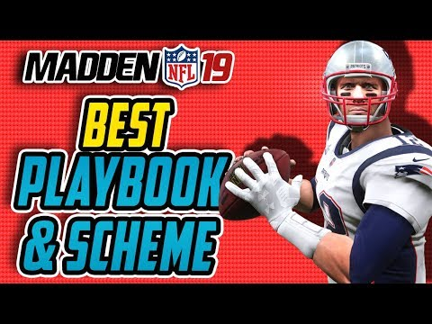 Madden 19 Tips: BEST Playbook In Madden 19! Easy UNSTOPPABLE Scheme!