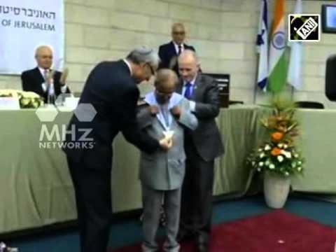 Indian President Mukherjee concludes historic Israel visit  (Oct 16, 2015)