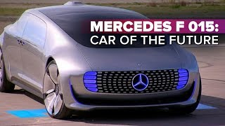 Mercedes F 015: Car of the future