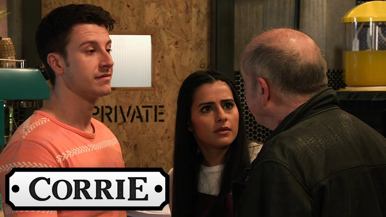 Geoff Returns To Speed Daal | Coronation Street