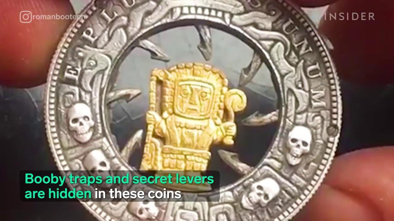 coins that have hidden traps