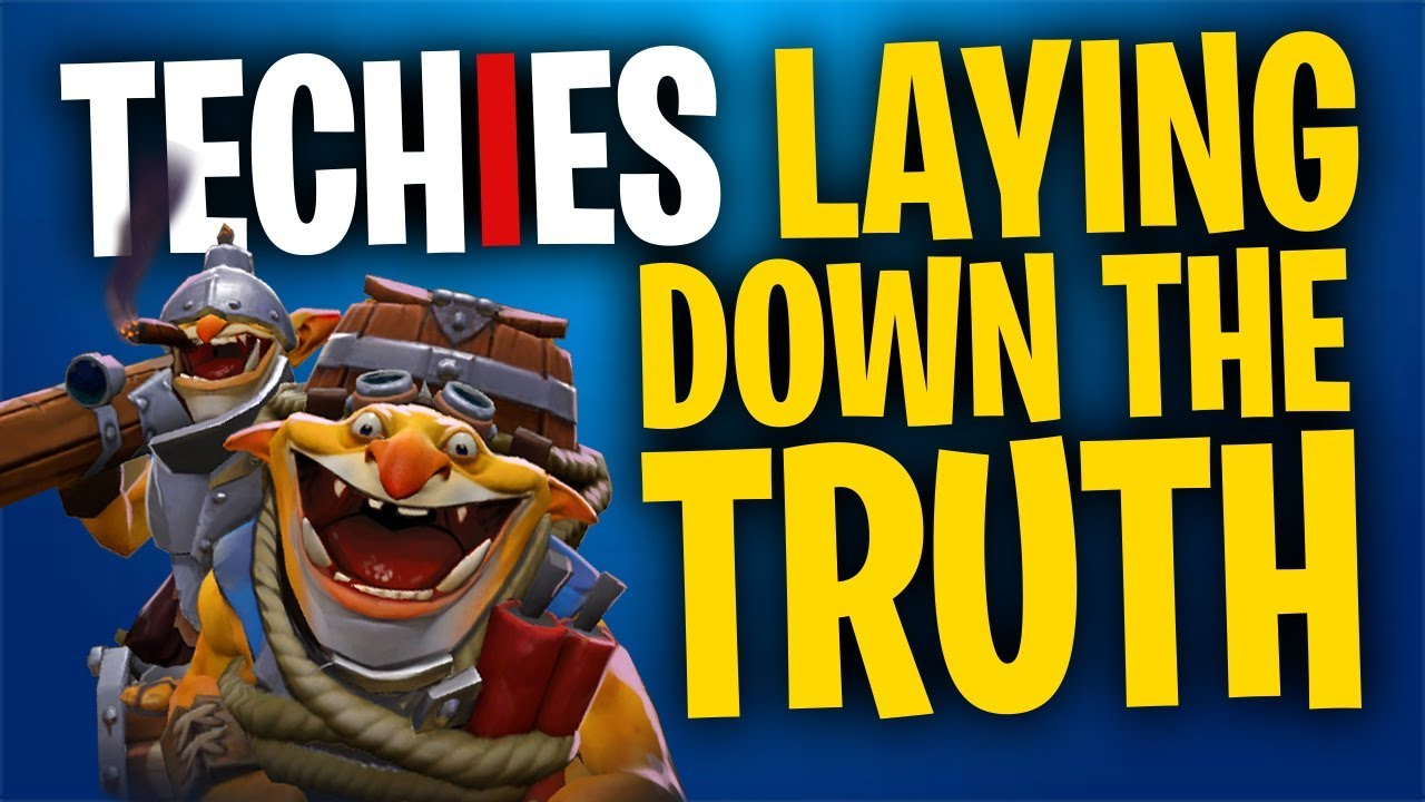 Techies Lays Down the Truth – DotA 2 Full Match