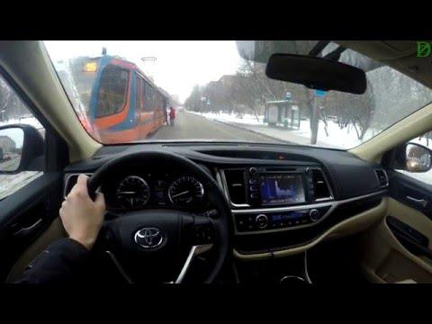 Toyota Highlander \ Безмолвная езда в 4k на Тойоте Хайлендер