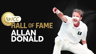 Allan Donald Enters The ICC Cricket Hall of Fame! | New Inductee | ICC