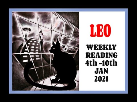 """LEO WEEKLY READING """"DON'T BE FEARFUL OF THE CHALLENGE"""" JANUARY 4th - 10th 2021 #TAROT"""