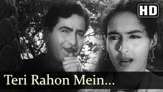 Teri Rahon Mein Khade Hain - Nutan - Chhalia - Mukesh - Lata - Evergreen Hindi Songs