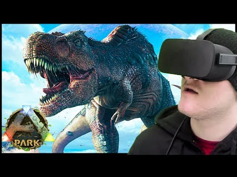 ARK IN VIRTUAL REALITY! - Ark Park Gameplay Ep 1 ( Ark Park PSVR Oculus VIVE Gameplay Walkthrough )