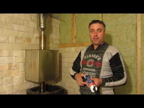 Из чего состоит банная печь? Банная печь с баком для воды.