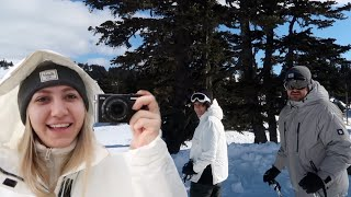 BEN TAM BİR ABLAYIM BU TATİLDE!👶🏽  kayak dersi aldık, Uğur'un yeni kararı, bizimle 3 gün uludağ