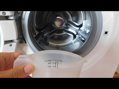 Smelly Your Washing Machine? How to clean home washing machine.With vinegar and baking soda