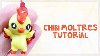 DIY: Pokemon Chibi Moltres Clay Charm Tutorial ☆