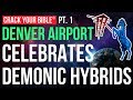 ⚡ Denver Airport's DEMONIC IMAGERY revealed | PART 1