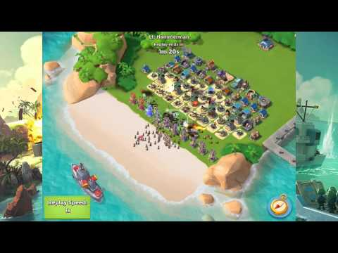Lt. Hammerman 6/4/15. Defended - Boom Beach