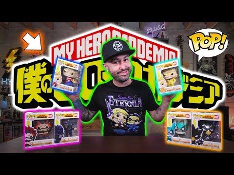 New 2019 My Hero Academia Funko Pop Review! (Wave 3)