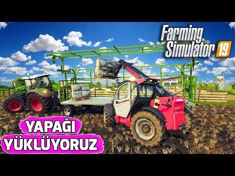 FARMING SIMULATOR 19 // YAPAĞI YÜKLÜYORUZ !! #17 thumbnail