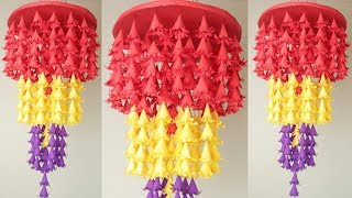 Eesy !! Paper Wall Hanging Making at Home || DIY Home Decoration Idea