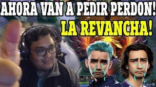 LA REVANCHA!! SMASH Y VANN VUELVEN A ENFRENTARSE AL EQUIPO DE SUMAIL!| DOTA 2