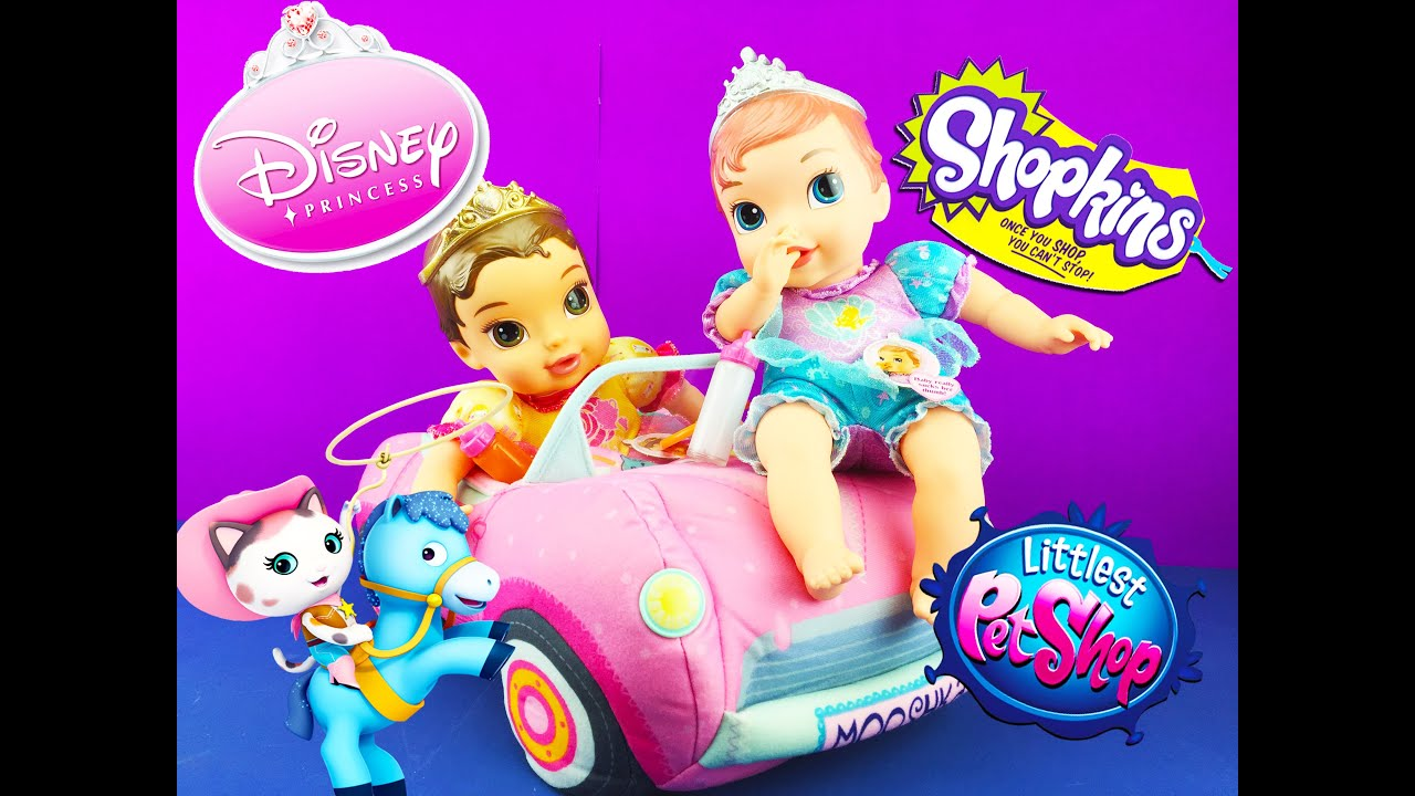 Disney Princess Babies Baby Dolls Blind Bags Shopkins Sheriff