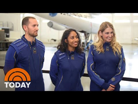 Exclusive: Meet Richard Branson's Crew Going To Space This Weekend
