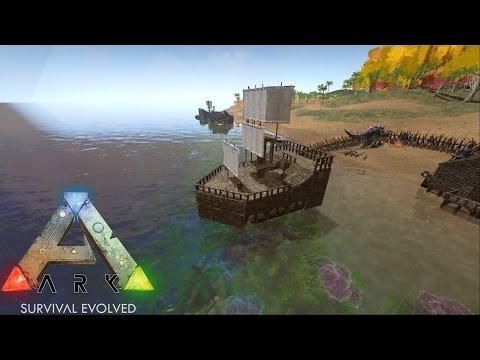 ark:-survival-evolved---amazing-raft-build!---s1ep7