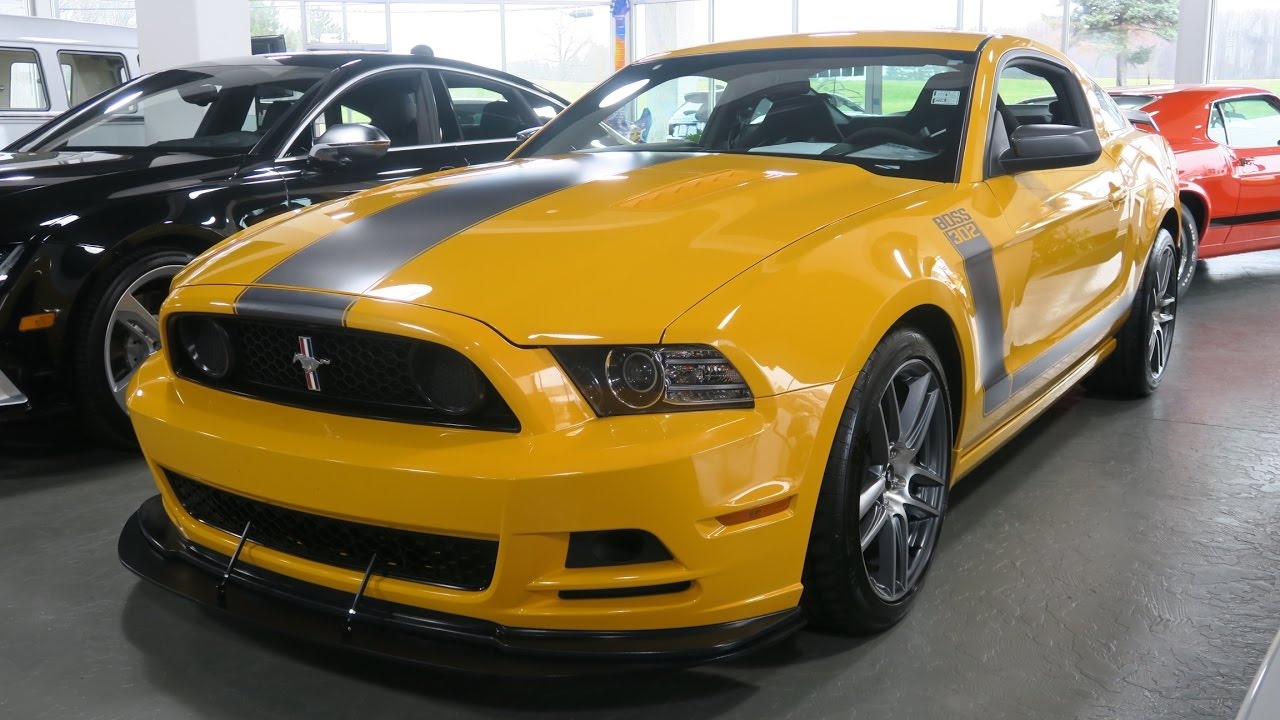 2013 ford mustang boss 302 for sale in canton ohio jeff 39 s motorcars youtube. Black Bedroom Furniture Sets. Home Design Ideas