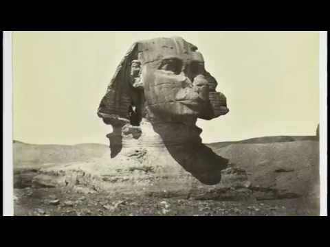 The Enigmatic GREAT SPHINX old pictures