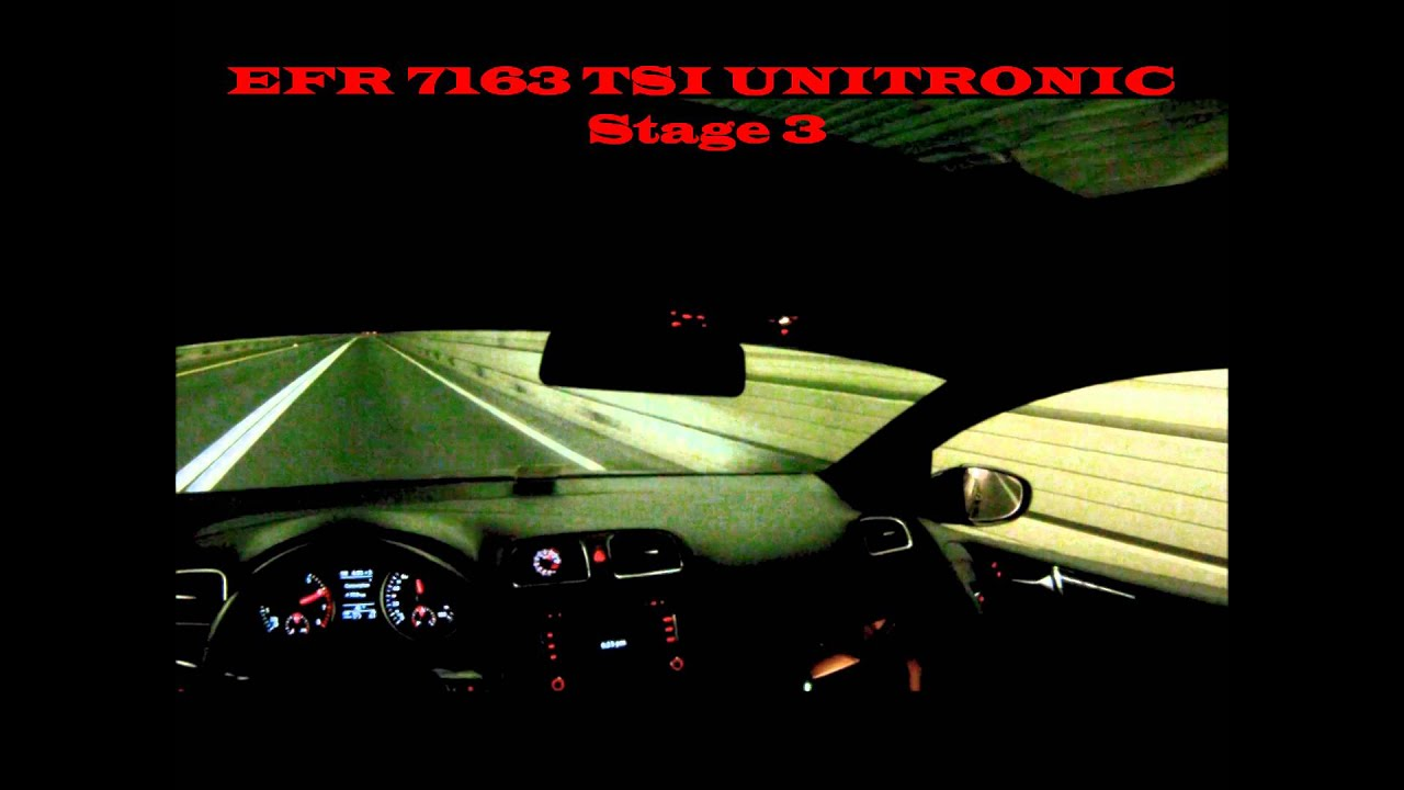 Big Turbo Unitronic EFR 7163 Stage 3 TSI GTI MK6 with water methanol  injection