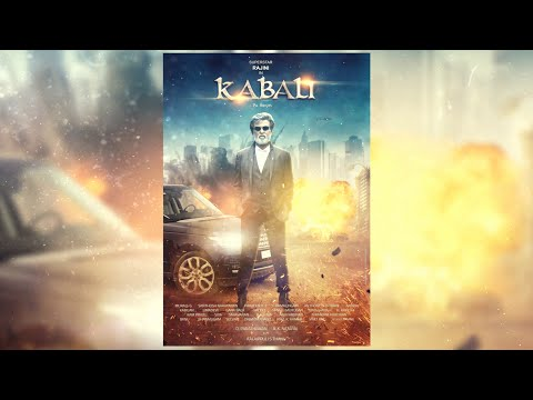 Kabali Movie Poster: SpeedArt