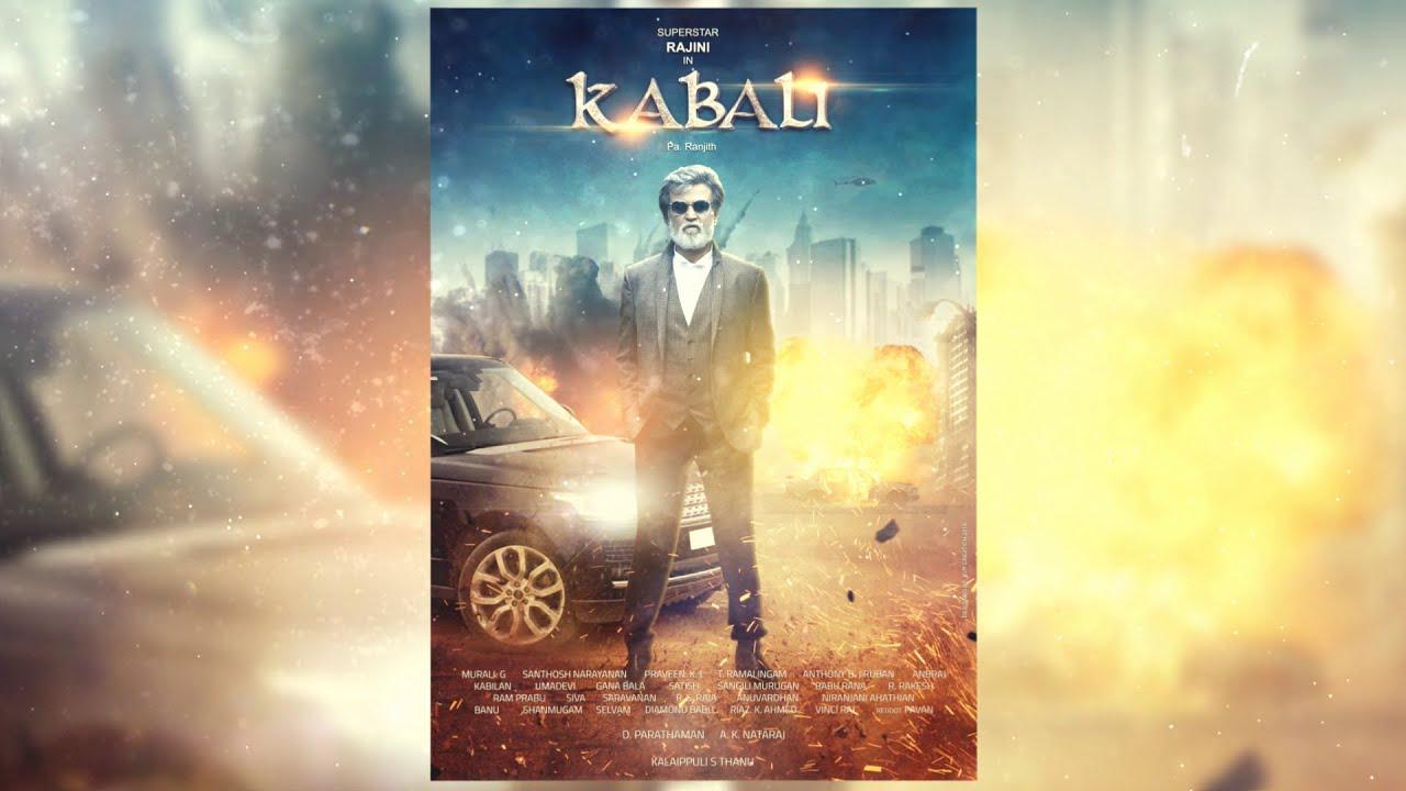Kabali Movie Poster SpeedArt