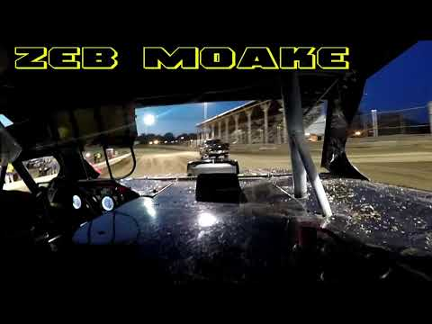 In Car Cam of Zeb Moake At Belle-Clair Speedway 7-27-18