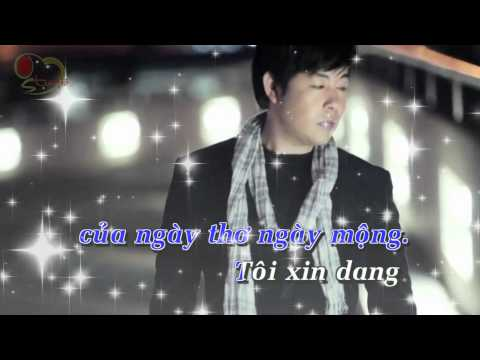 karaoke  - beat lk mua nua dem, ai cho toi tinh yeu  - quang le [Full HD]