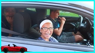 DRIVING FOR THE FIRST TIME  | SISTERFOREVERVLOGS #521