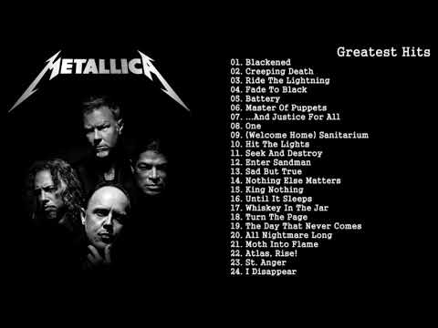 Top 50 Metallica Songs - Rate Your Music