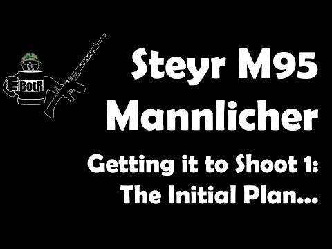 Getting an M95 Mannlicher in 8x50R running 1: The Initial Plan...
