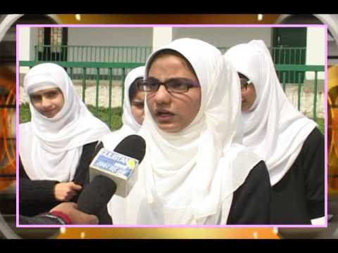 campus buzz GOVT. GIRLS HR.SEC NOWHATTA SRINAGAR WITH IRFAN FAZIL